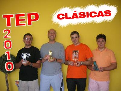 Finalistas del torneo de máquinas clásicas TEP 2010